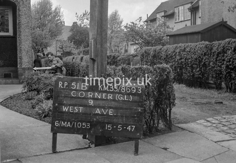 SJ869351B, Ordnance Survey Revision Point photograph in Greater Manchester