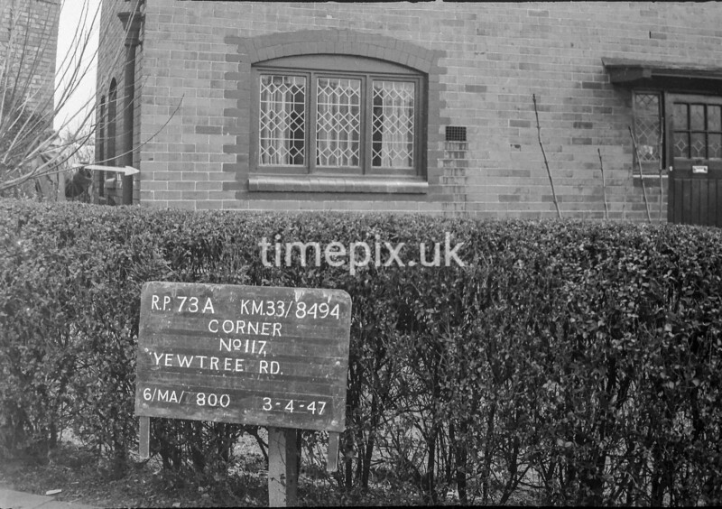 SJ849473A, Ordnance Survey Revision Point photograph in Greater Manchester