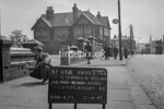 SJ879437A, Ordnance Survey Revision Point photograph in Greater Manchester