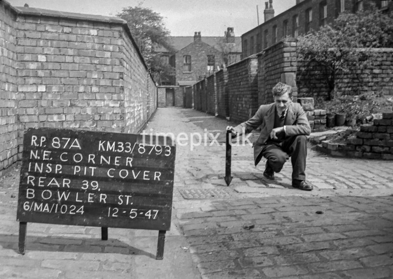 SJ879387A, Ordnance Survey Revision Point photograph in Greater Manchester