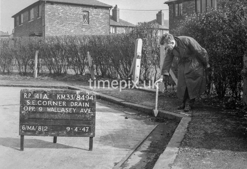 SJ849441A, Ordnance Survey Revision Point photograph in Greater Manchester