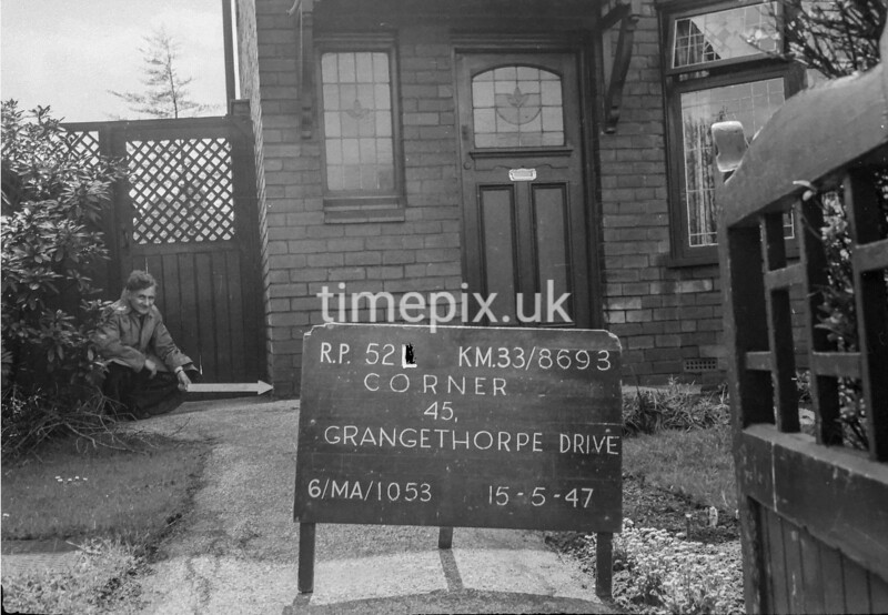 SJ869352L, Ordnance Survey Revision Point photograph in Greater Manchester