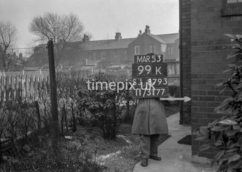 SJ879399K, Ordnance Survey Revision Point photograph in Greater Manchester