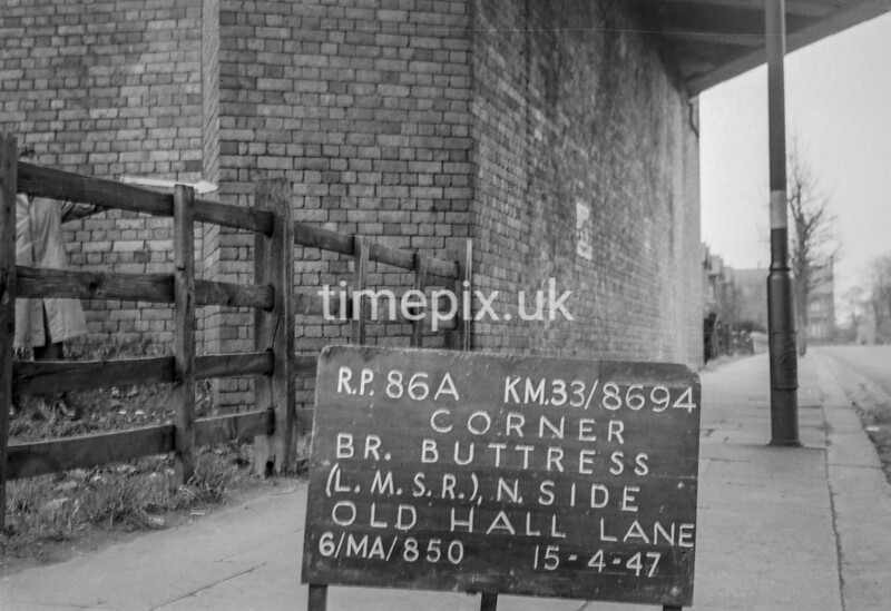 SJ869486A, Ordnance Survey Revision Point photograph in Greater Manchester