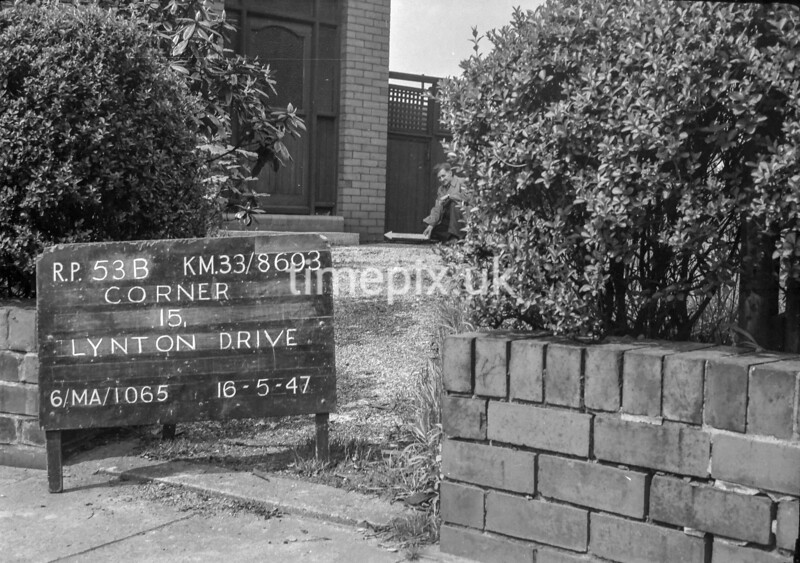 SJ869353B, Ordnance Survey Revision Point photograph in Greater Manchester