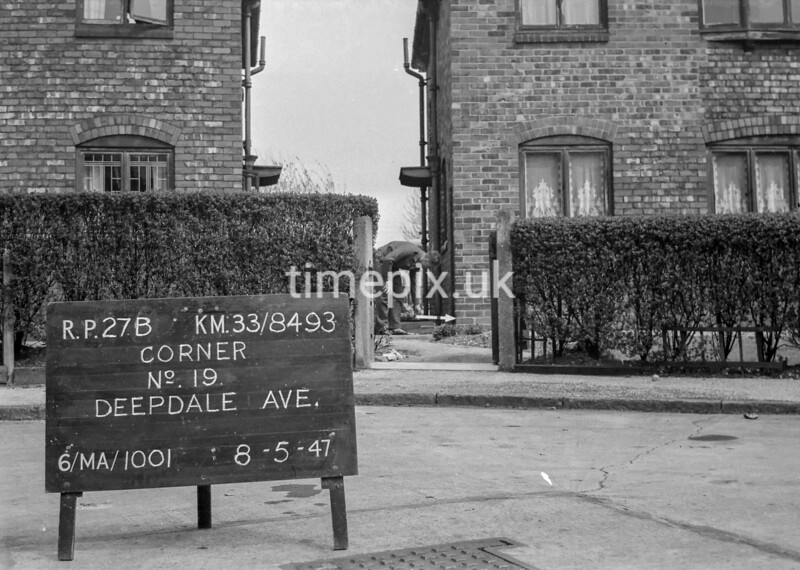SJ849327B, Ordnance Survey Revision Point photograph in Greater Manchester