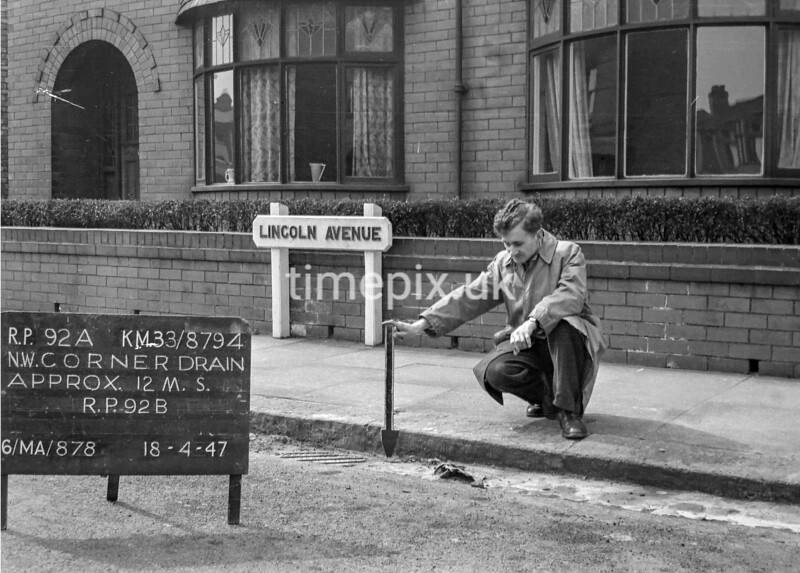 SJ879492A, Ordnance Survey Revision Point photograph in Greater Manchester