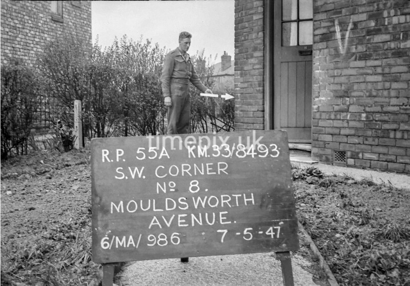 SJ849355A, Ordnance Survey Revision Point photograph in Greater Manchester