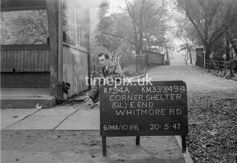 SJ849494A, Ordnance Survey Revision Point photograph in Greater Manchester