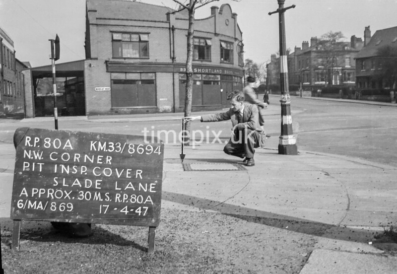 SJ869480A, Ordnance Survey Revision Point photograph in Greater Manchester