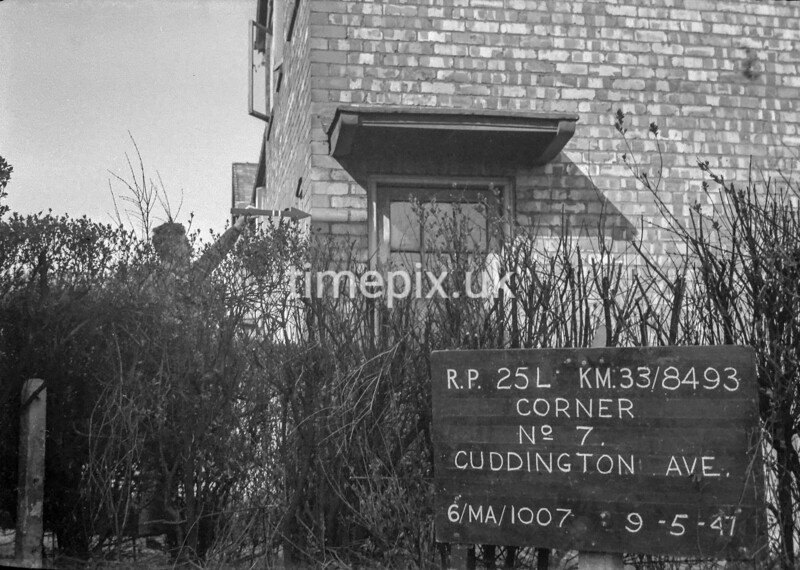 SJ849325L, Ordnance Survey Revision Point photograph in Greater Manchester