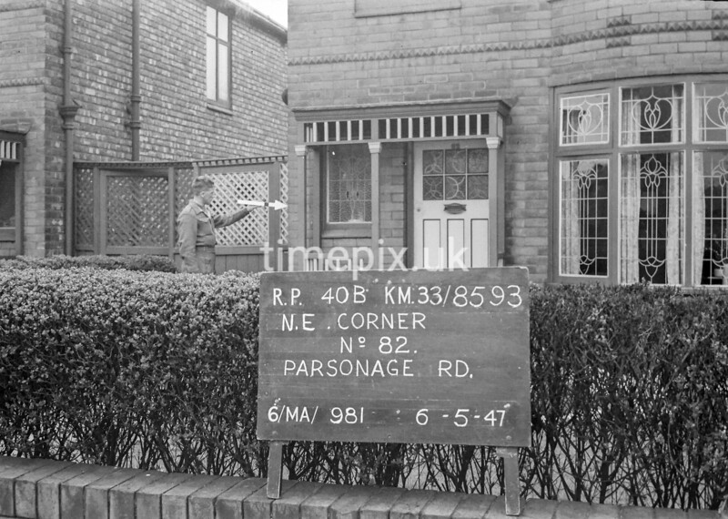 SJ859340B, Ordnance Survey Revision Point photograph in Greater Manchester