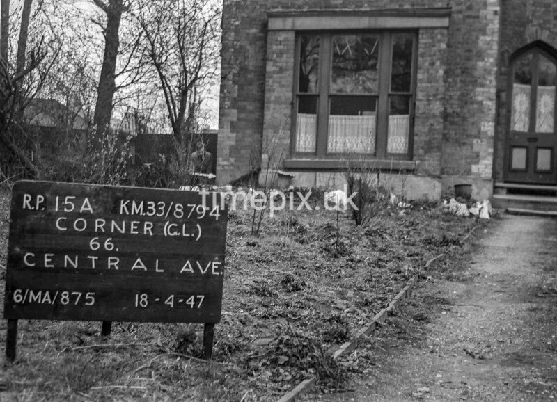 SJ879415A, Ordnance Survey Revision Point photograph in Greater Manchester