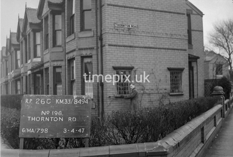 SJ849426C, Ordnance Survey Revision Point photograph in Greater Manchester