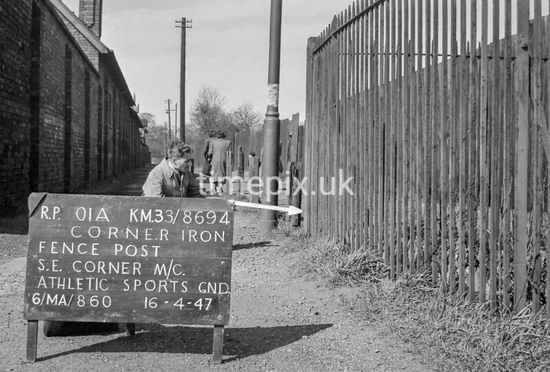 SJ869401A, Ordnance Survey Revision Point photograph in Greater Manchester