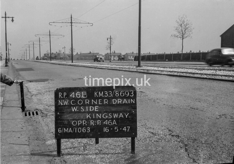 SJ869346B, Ordnance Survey Revision Point photograph in Greater Manchester