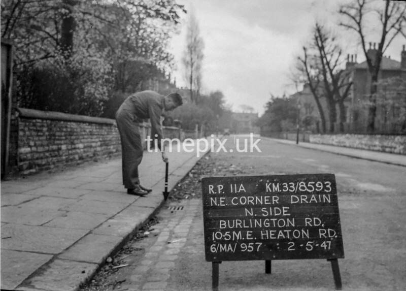 SJ859311A, Ordnance Survey Revision Point photograph in Greater Manchester