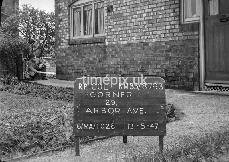 SJ879300L, Ordnance Survey Revision Point photograph in Greater Manchester