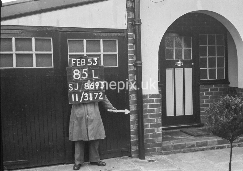 SJ869385L, Ordnance Survey Revision Point photograph in Greater Manchester