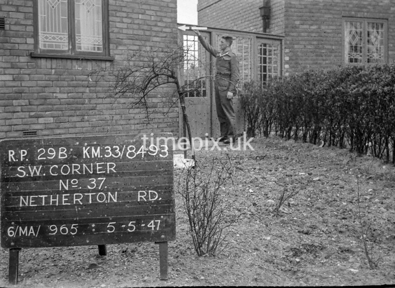 SJ849329B, Ordnance Survey Revision Point photograph in Greater Manchester