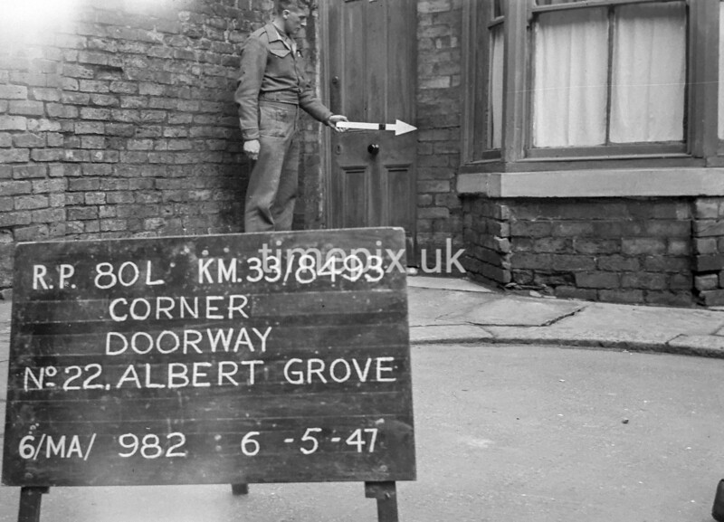 SJ849380L, Ordnance Survey Revision Point photograph in Greater Manchester
