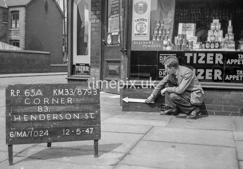SJ879365A, Ordnance Survey Revision Point photograph in Greater Manchester