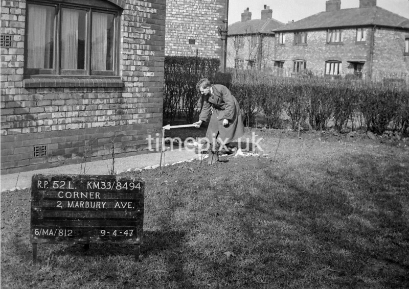 SJ849452L, Ordnance Survey Revision Point photograph in Greater Manchester