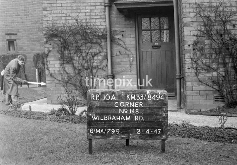 SJ849410A, Ordnance Survey Revision Point photograph in Greater Manchester