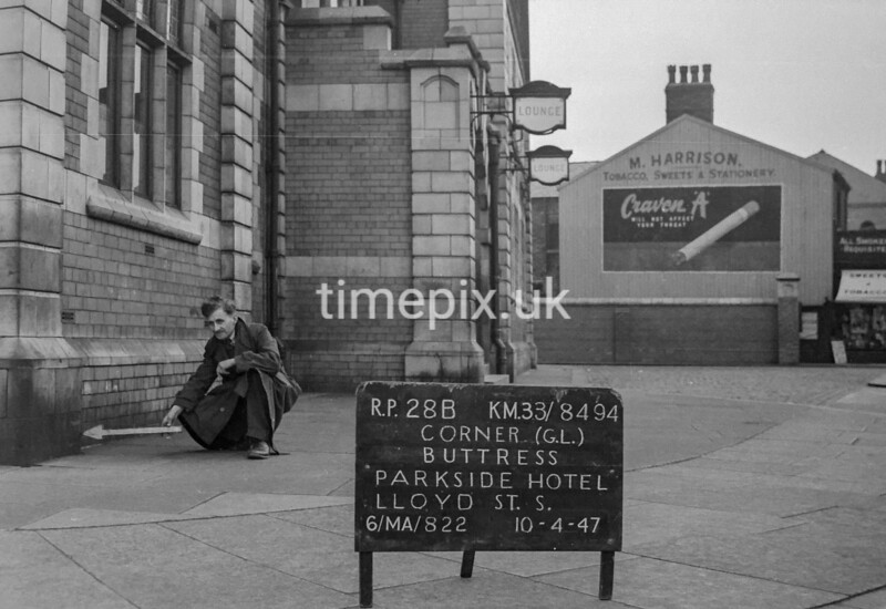 SJ849428B1, Ordnance Survey Revision Point photograph in Greater Manchester