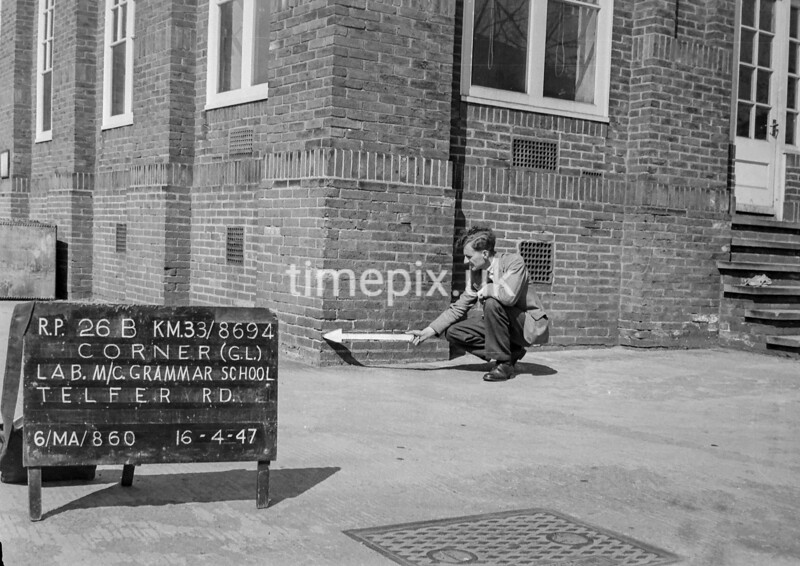 SJ869426B, Ordnance Survey Revision Point photograph in Greater Manchester