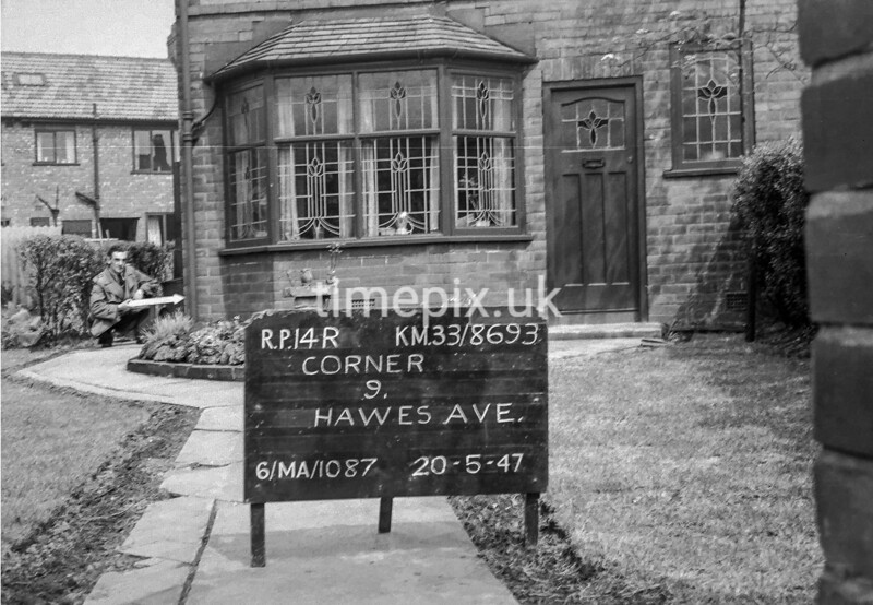 SJ869314R, Ordnance Survey Revision Point photograph in Greater Manchester