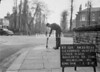 SJ859312A, Ordnance Survey Revision Point photograph in Greater Manchester