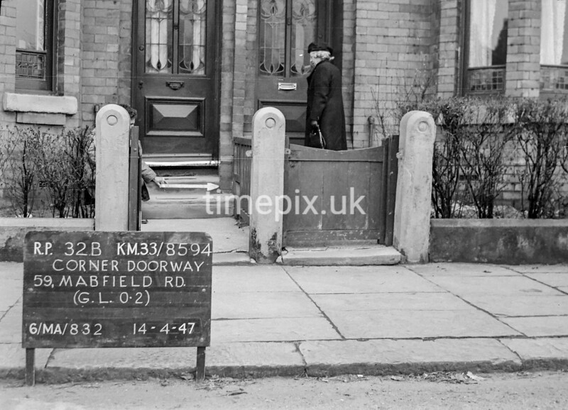 SJ859432B, Ordnance Survey Revision Point photograph in Greater Manchester