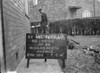 SJ849345L, Ordnance Survey Revision Point photograph in Greater Manchester
