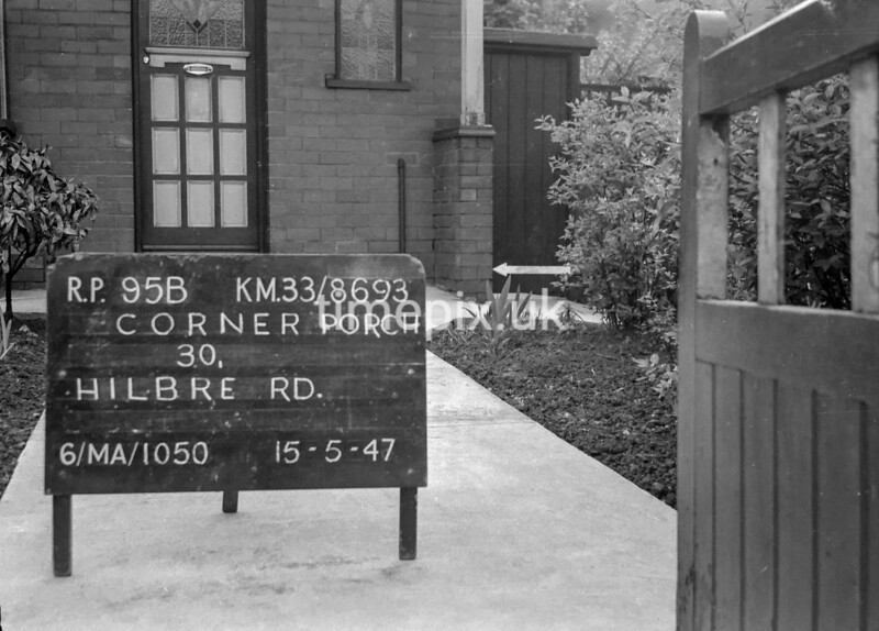 SJ869395B, Ordnance Survey Revision Point photograph in Greater Manchester