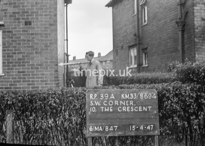 SJ869439A, Ordnance Survey Revision Point photograph in Greater Manchester