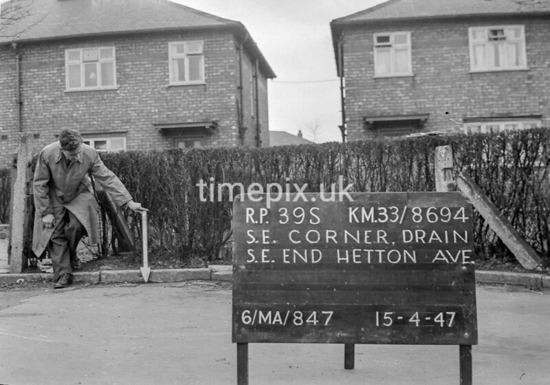 SJ869439S, Ordnance Survey Revision Point photograph in Greater Manchester