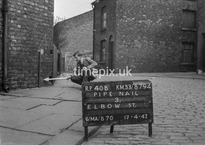 SJ879440B, Ordnance Survey Revision Point photograph in Greater Manchester