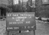 SJ849364A, Ordnance Survey Revision Point photograph in Greater Manchester