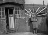 SJ879362K, Ordnance Survey Revision Point photograph in Greater Manchester