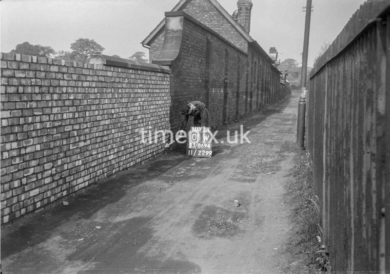 SJ869401W, Ordnance Survey Revision Point photograph in Greater Manchester