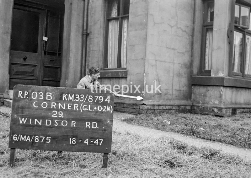 SJ879403B, Ordnance Survey Revision Point photograph in Greater Manchester