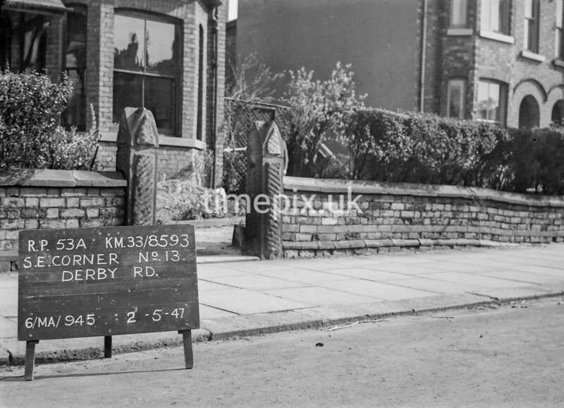 SJ859353A, Ordnance Survey Revision Point photograph in Greater Manchester