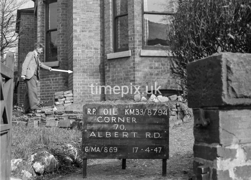 SJ879401L, Ordnance Survey Revision Point photograph in Greater Manchester