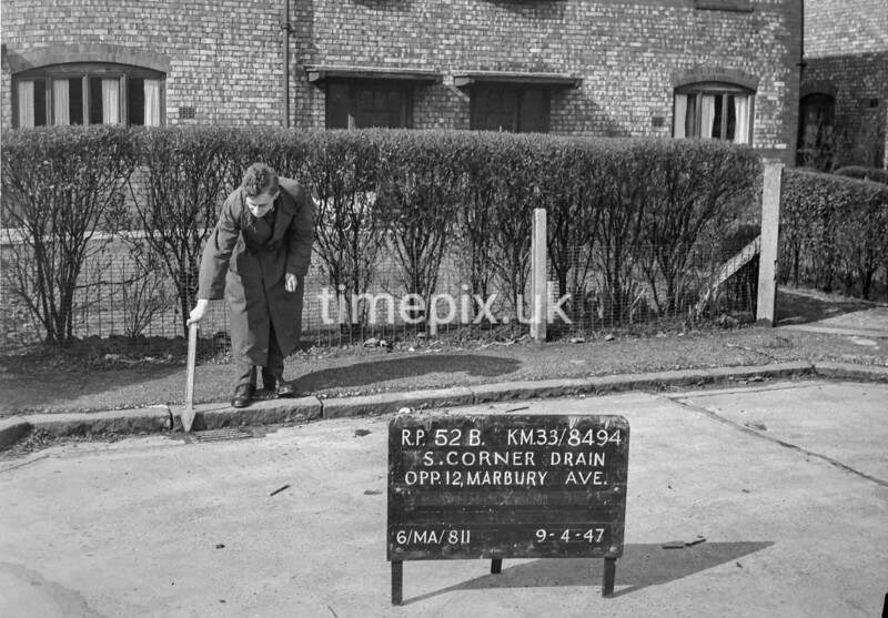 SJ849452B, Ordnance Survey Revision Point photograph in Greater Manchester