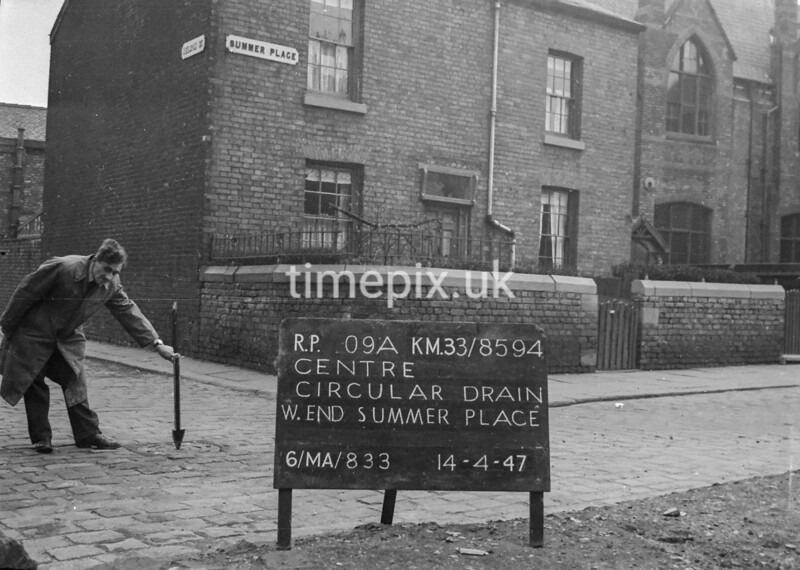 SJ859409A, Ordnance Survey Revision Point photograph in Greater Manchester