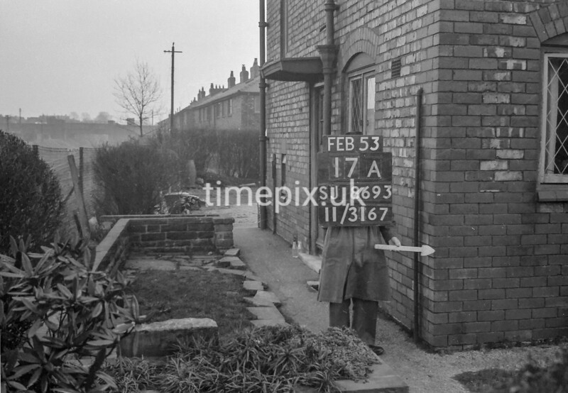 SJ869317A, Ordnance Survey Revision Point photograph in Greater Manchester