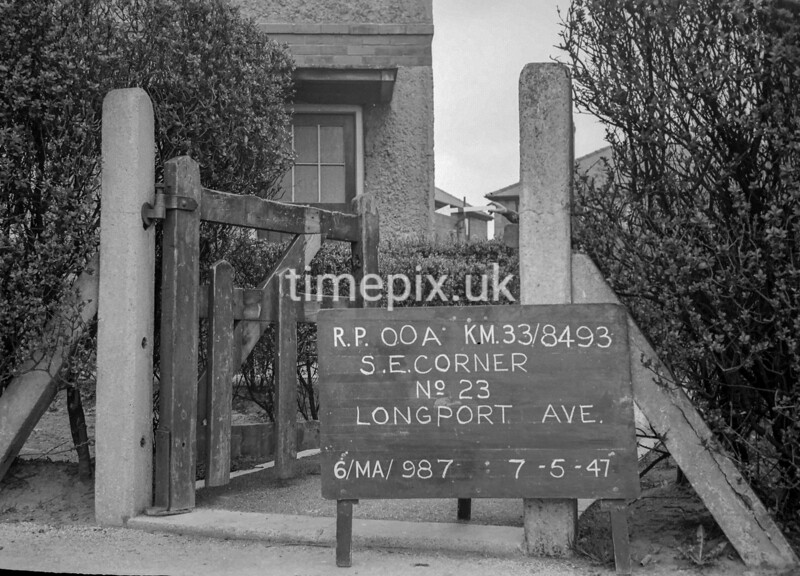 SJ849300A, Ordnance Survey Revision Point photograph in Greater Manchester