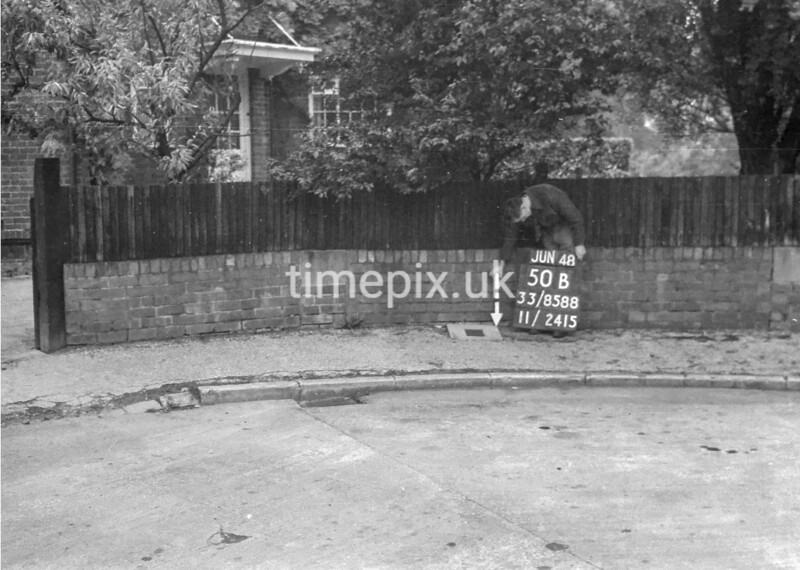 SJ858850B1, Ordnance Survey Revision Point photograph in Greater Manchester