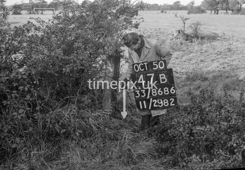 SJ868647B, Ordnance Survey Revision Point photograph in Greater Manchester